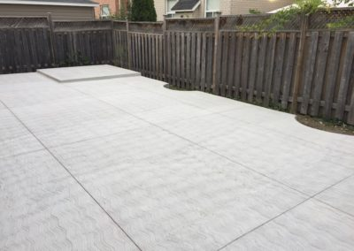 Plain patio