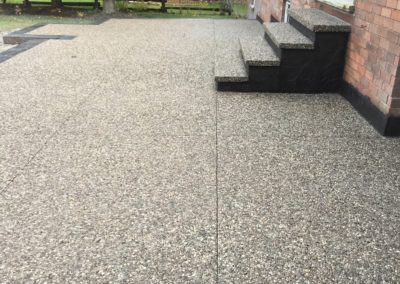 exposed patio